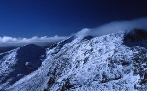 Ben Cruachan.Evening,Feb 2001.