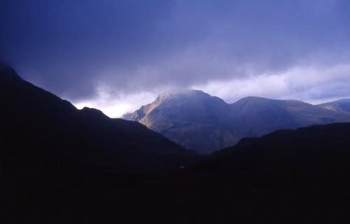 Great Gable,From Esk...