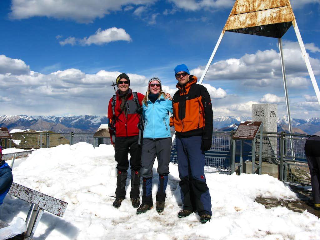 Summit of Monte Generoso 1701m