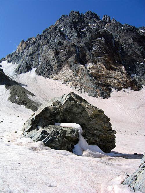 Base of Siah Sang Peak