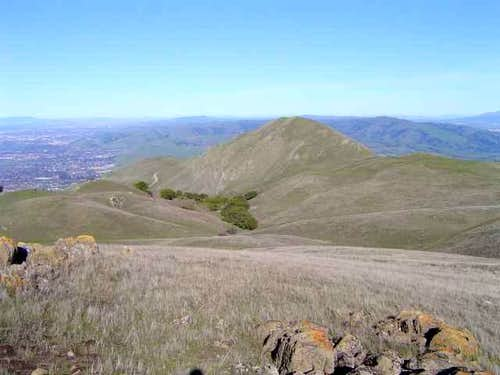 View of Mission Peak from...