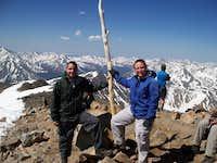 Eric and Noelle on Elbert's Summit