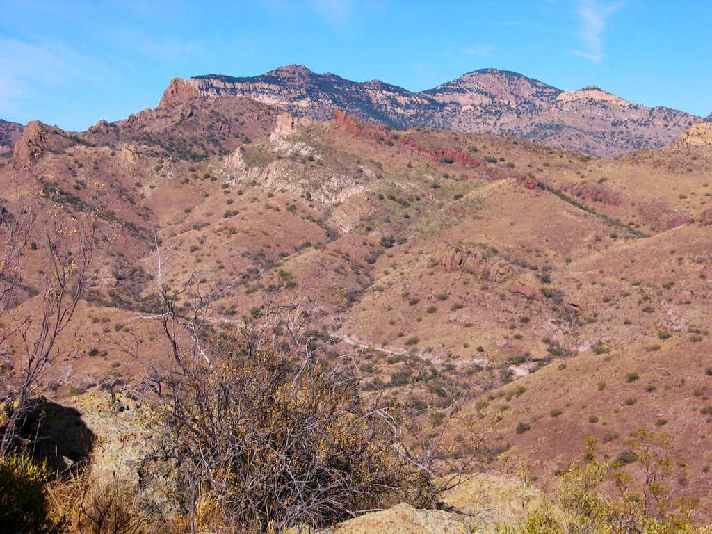Atascosa Peak and Atascosa Lookout