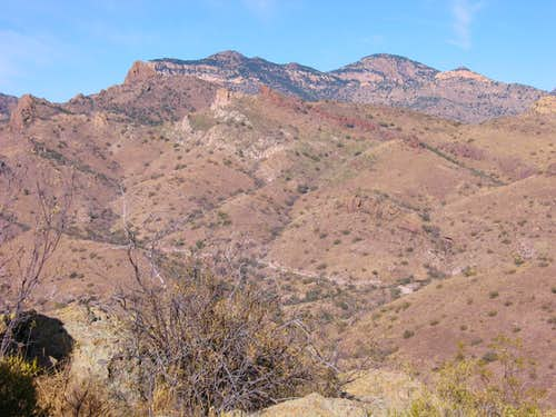 Atascosa Peak and Atascosa Lookout