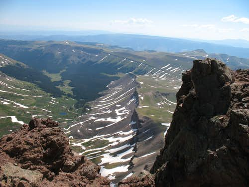 Uncompahgre - View from Summit