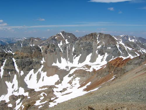 Silver from Boulder Basin Peak