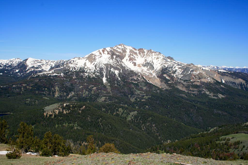 Electric Peak from Sepulcher Mountain