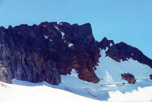The unclimbed West Face of...