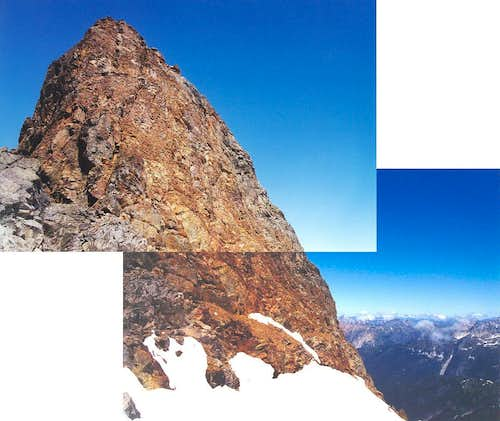 This is the East Face...