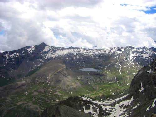 Pano from the summit