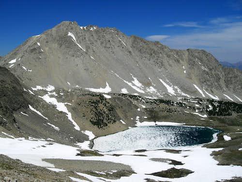 Altair Peak and Betty Lake