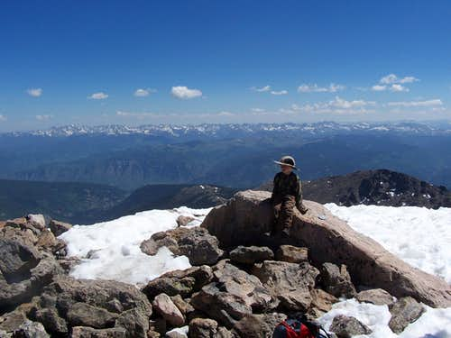 Gore Range from the summit