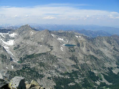 Angel's Perch and Angel Lake