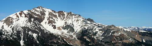 Electric Peak from Summit of Sepulcher