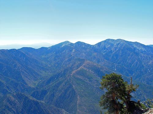 Mount Baldy from Mount Baden-Powell