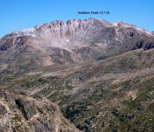 From the summit of Hiamovi...