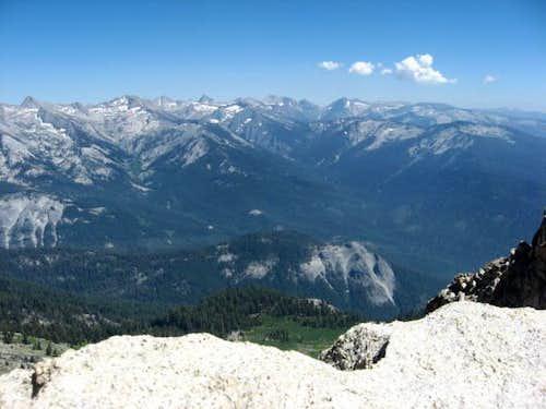 View from Alta Peak Summit, Sequoia National Park, California