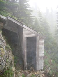 Outhouse near Lookout
