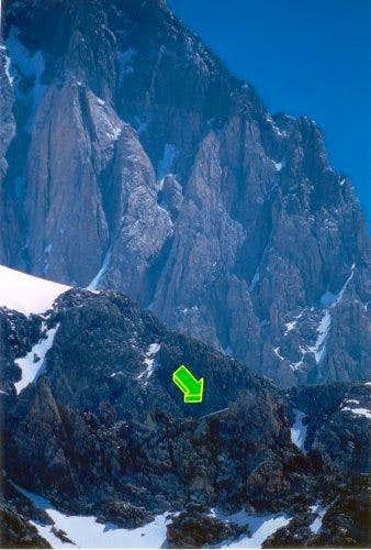 Quintino Sella hut as seen...