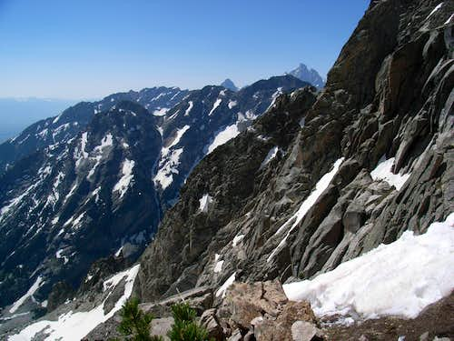 The Grand Teton from Thor Peak.