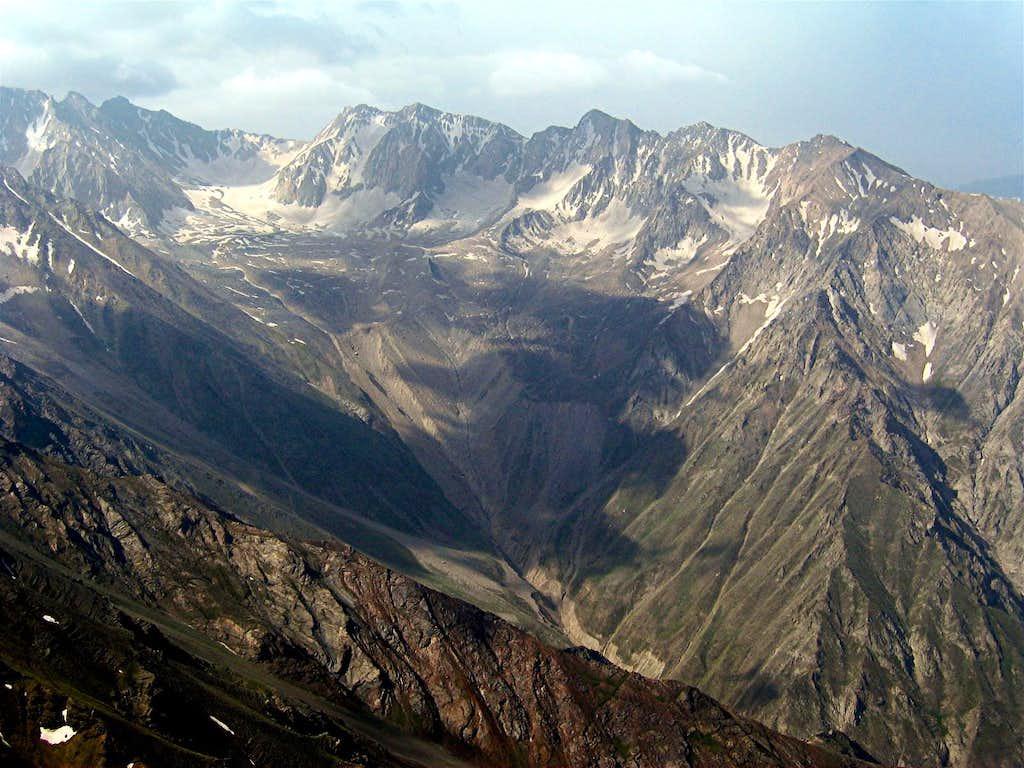 Haft Khan Peaks & Glacier