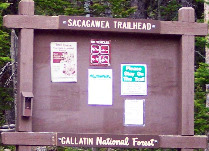 Fairy Lake Trail Head Sign