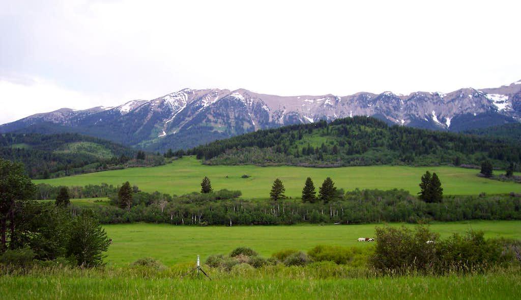 The Bridger Mountains