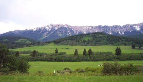 The Bridger Mountains