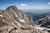 Mt. Moran's West Face