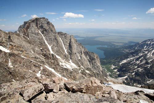 Mt. Moran's West Face