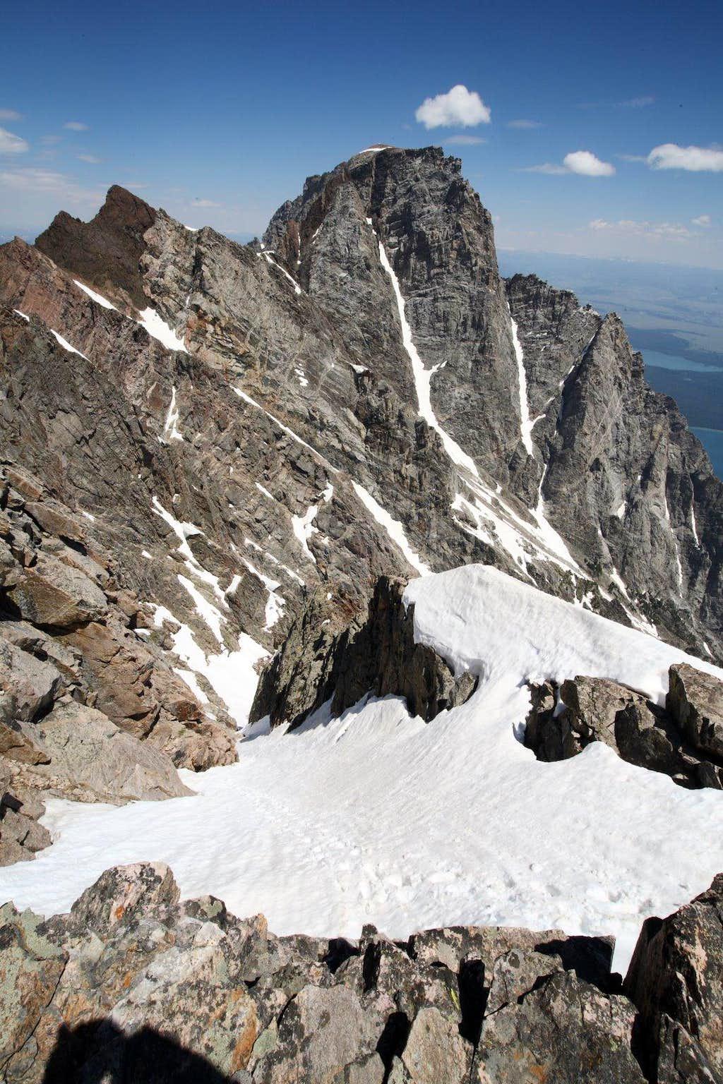 Mt. Moran from Thor Peak
