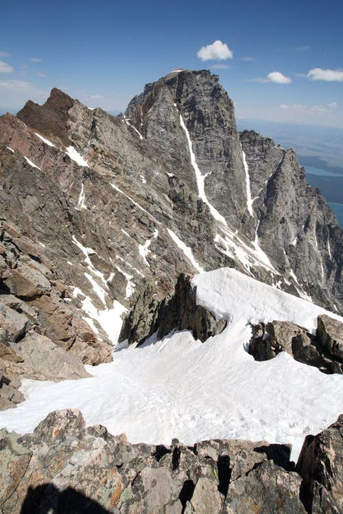 Mt. Moran from Thor Peak
