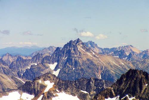 Black Peak as seen from...