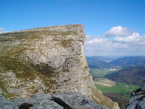 Tologorri (Salvada mountains)  summit