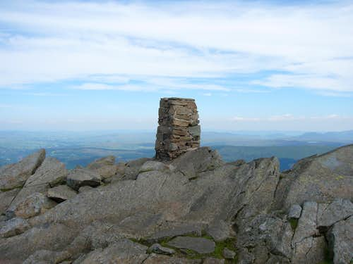 Moel Siabod Summit Trig-Point