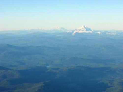 Cascades from Hood s Summit