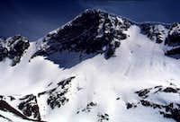The north face of Mt. Dana...