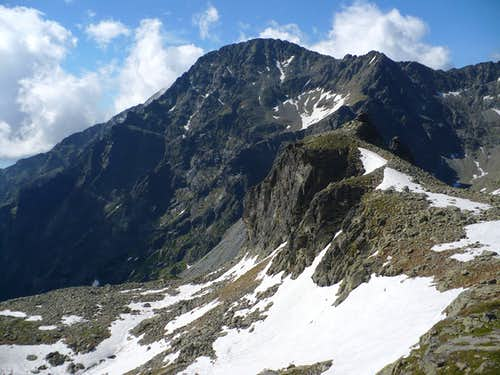 Slavkovský štít (2452 m) and Strelecká veža (2131 m)