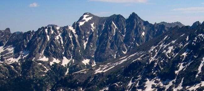 The Apache/Navajo Peak Massif...