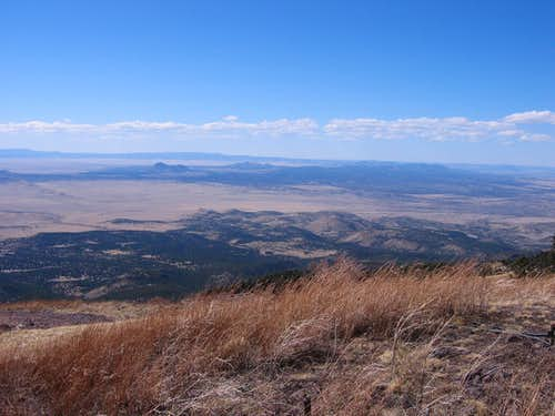 Northwest from South Baldy