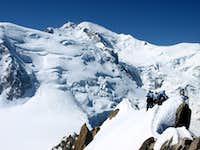 Mont Blanc du Tacul, Mont Blanc
