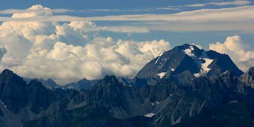 cumulus cloud and Habicht