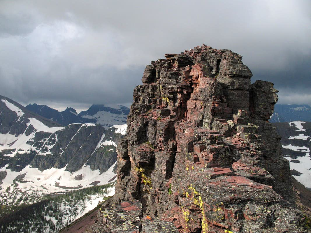Painted Tepee Peak-- Summit