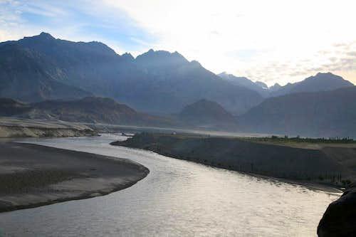 River Indus Near Skardu, Karakoram, Pakistan
