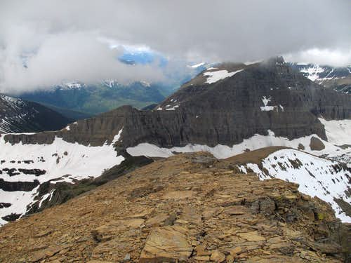 Triple Divide Peak and Norris Mountain