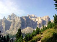 The Sella group seen from the...