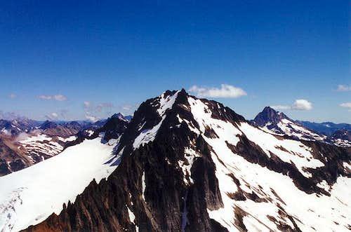 Mt. Buckner with Mt. Goode on...