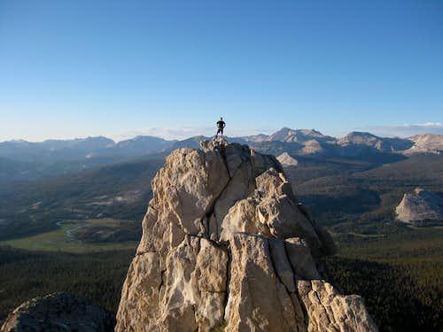 AJW on north summit of Unicorn Peak