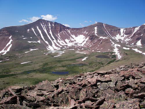 Kings Emmons Ridge Climbing Hiking Mountaineering Summitpost