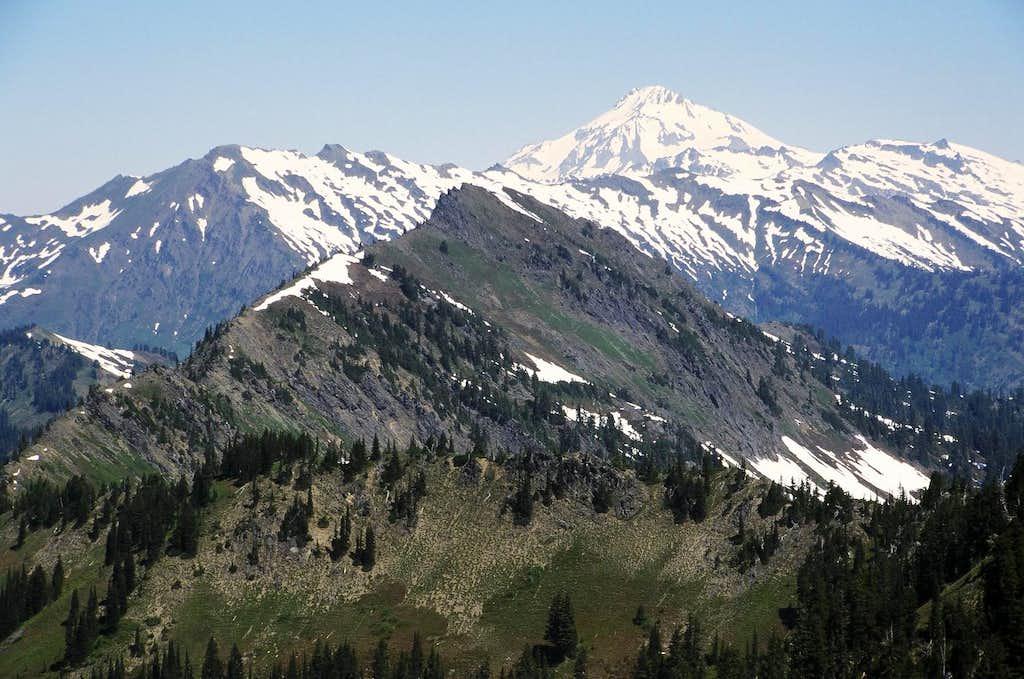 Bryant Peak from Poet's Ridge